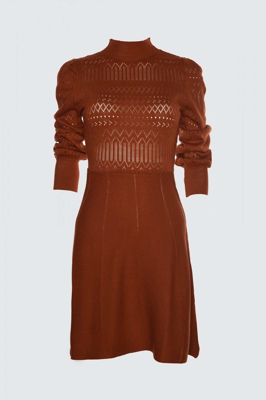 Trendyol Tdareb Knitted Detailed Knit Dress