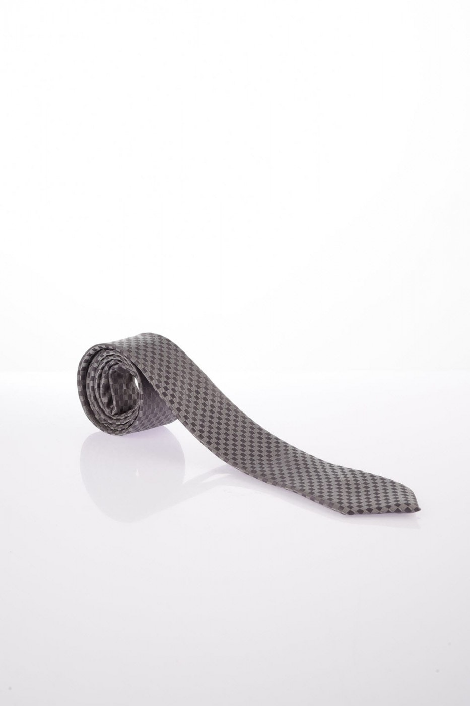 Trendyol Grey Male-Patterned Tie