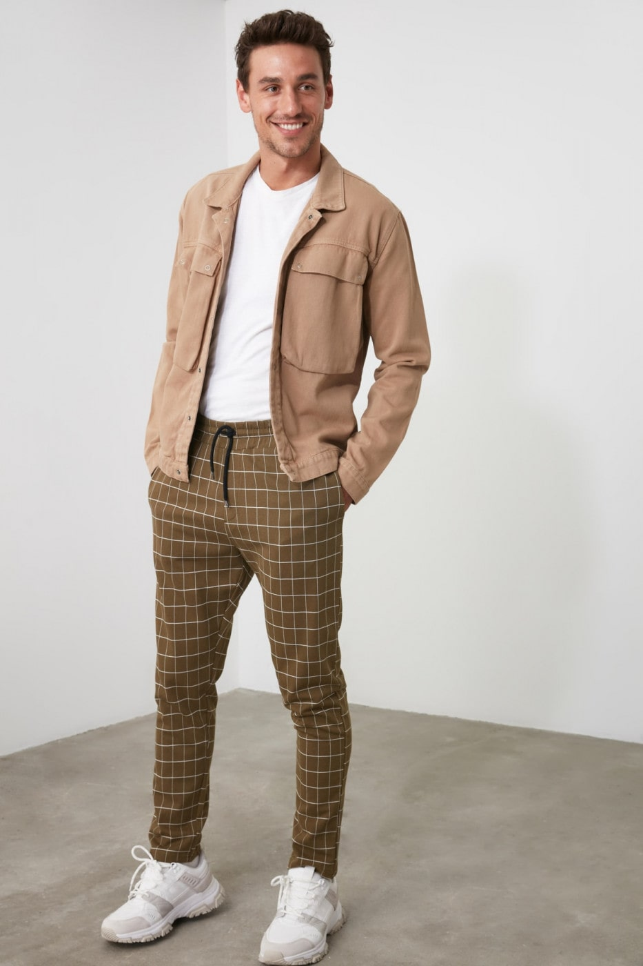 Trendyol Brown Men's Tracksuit bottom
