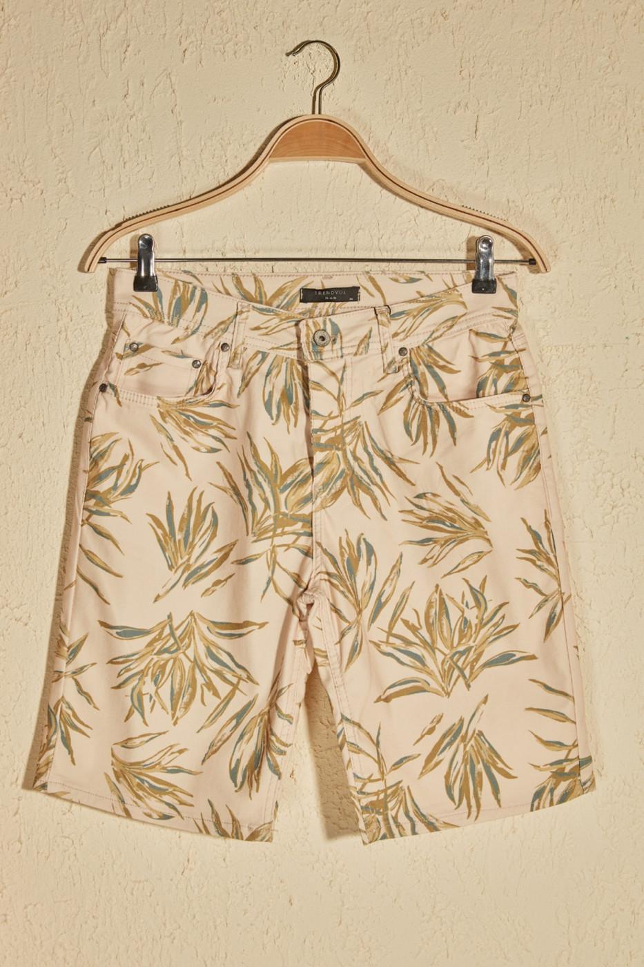 Trendyol Multi-Color Men's Printed Shorts & Bermuda