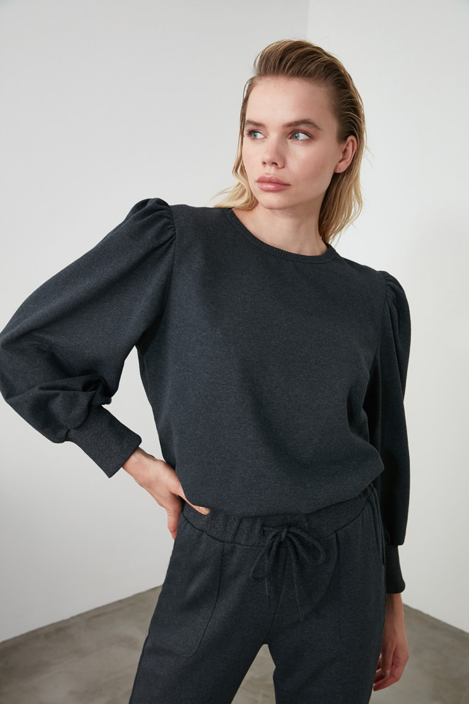 Women's sweatshirt Trendyol Basic