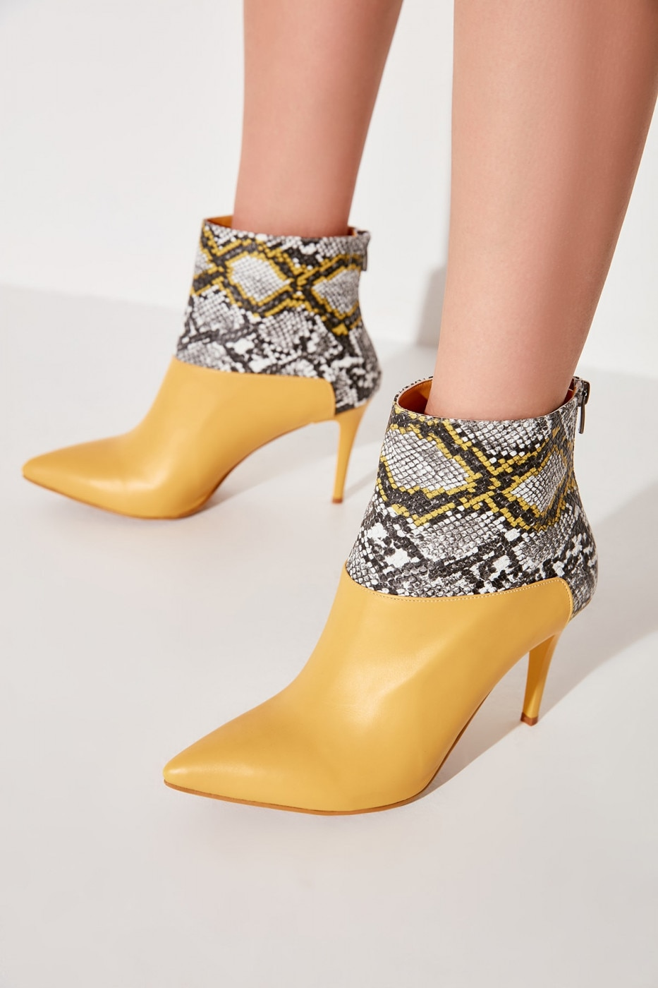 Trendyol Mustard Women's Boots