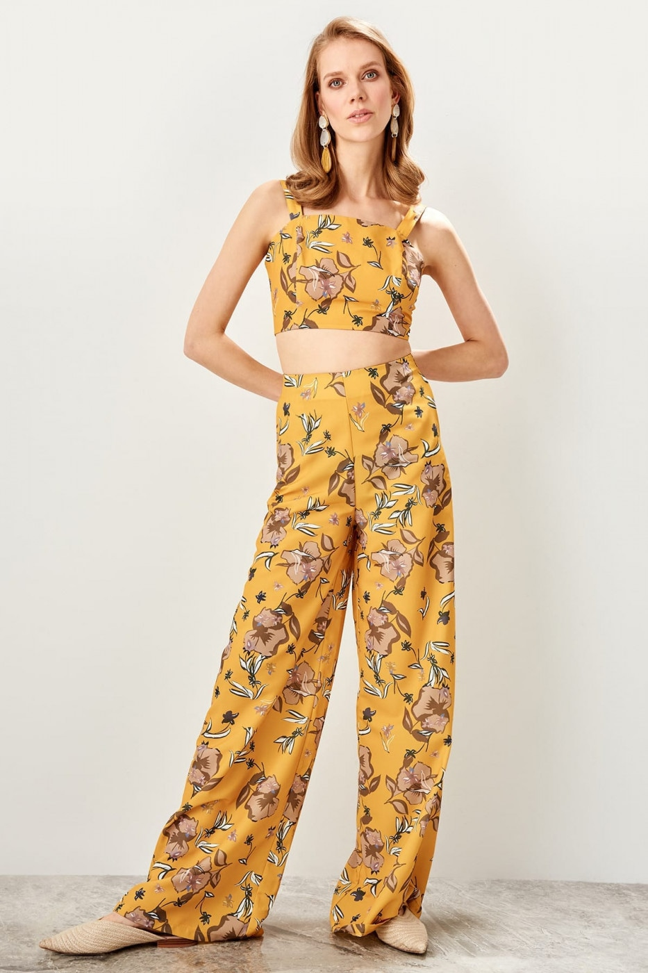 Trendyol Multicolored Patterned Pants