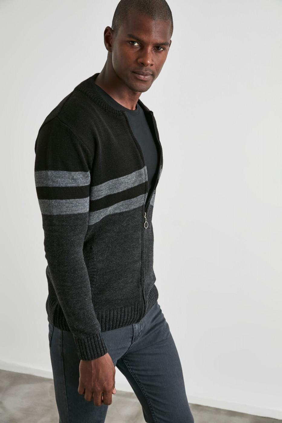 Trendyol Black Male Cardigan