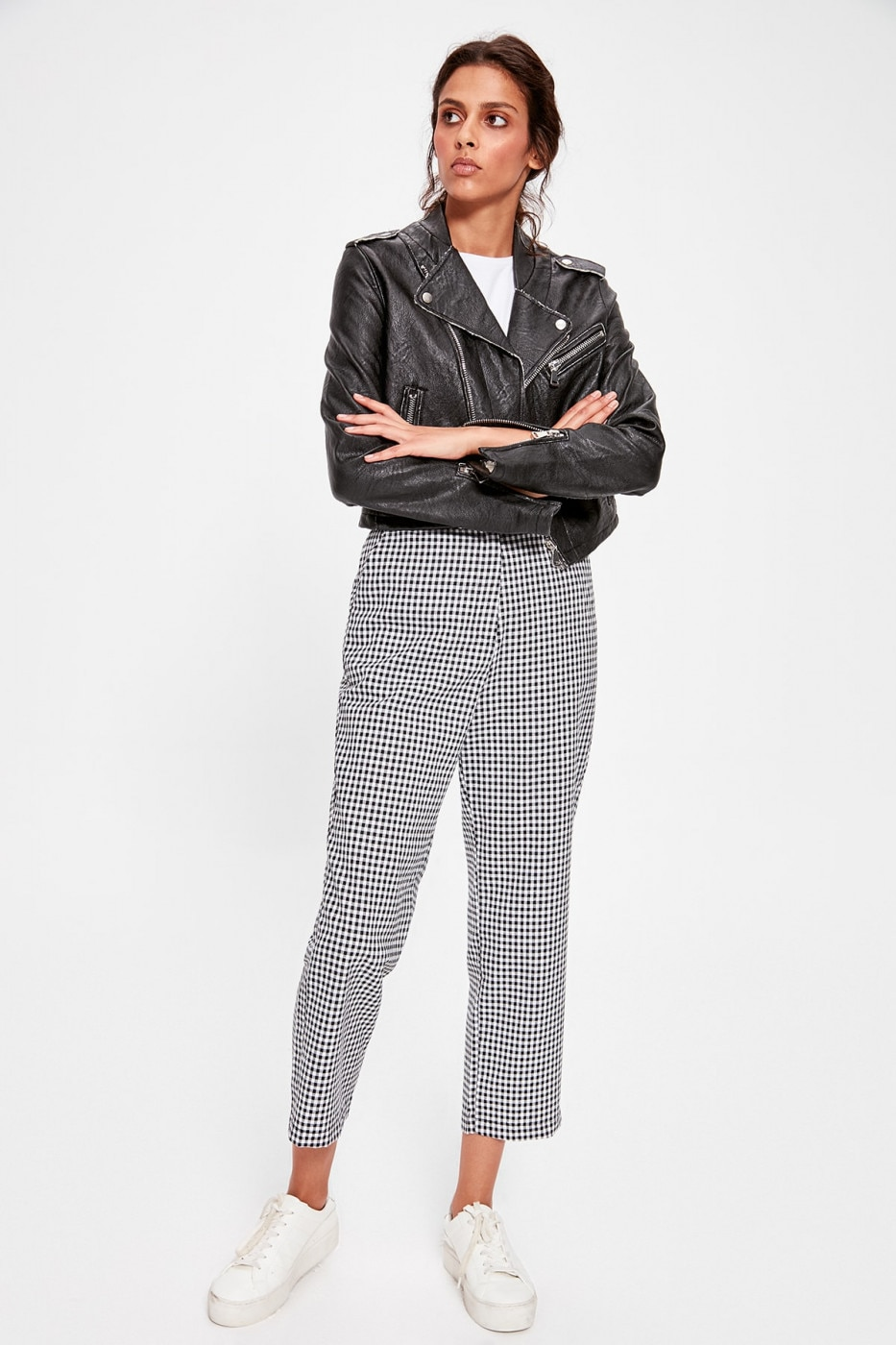 Trendyol Black Pötikare Pants