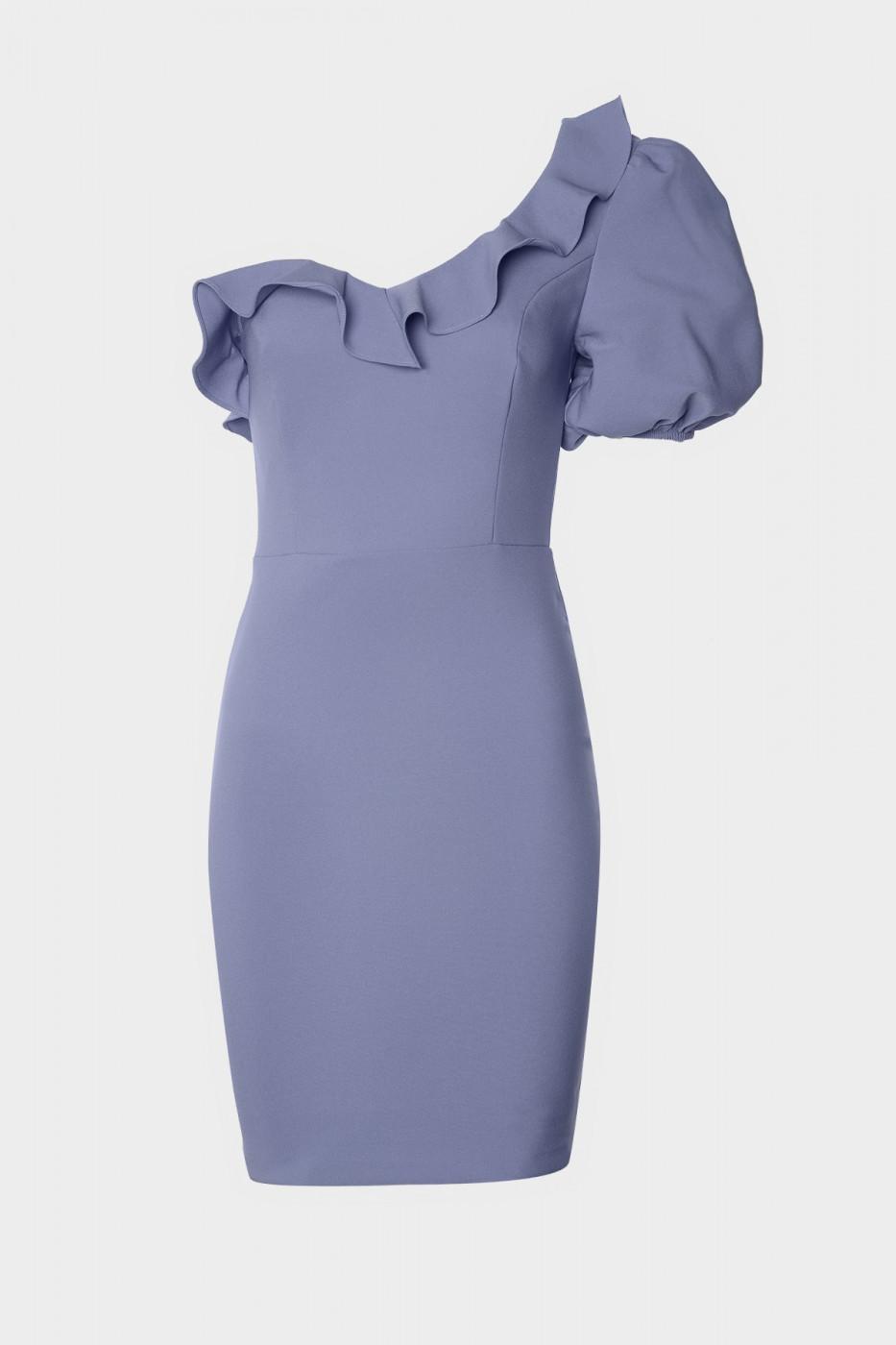 Trendyol Lila Volan Detailed Dress