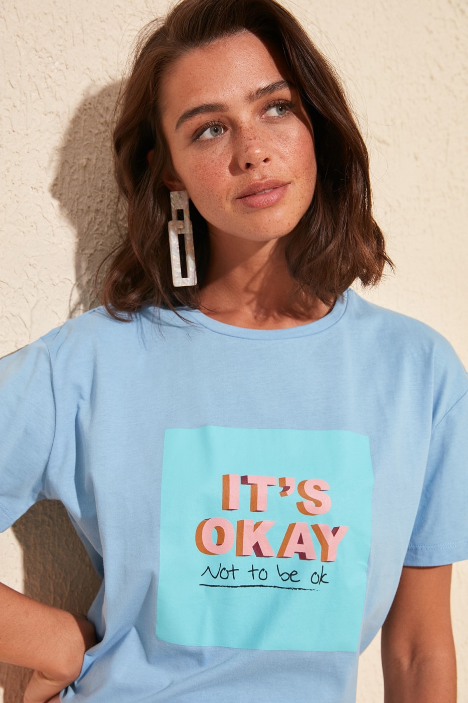 Women's T-shirt Trendyol Graphic printed