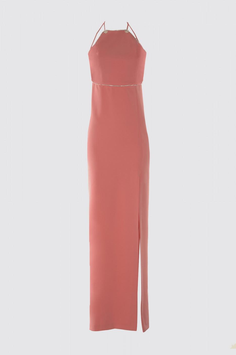 Trendyol Evening Dress & Graduation Dress with Pink Stone Accessory