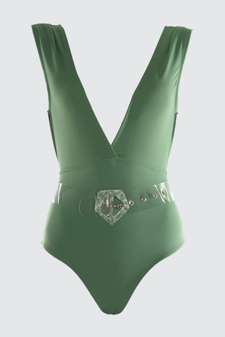 Trendyol Green Arch swimsuit