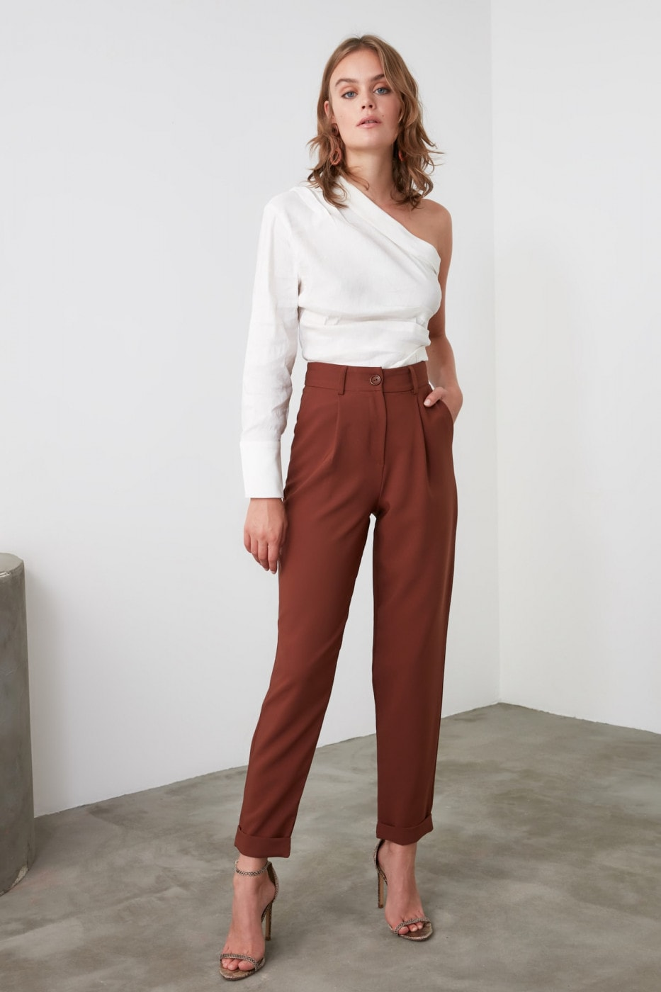 Women's pants Trendyol Basic