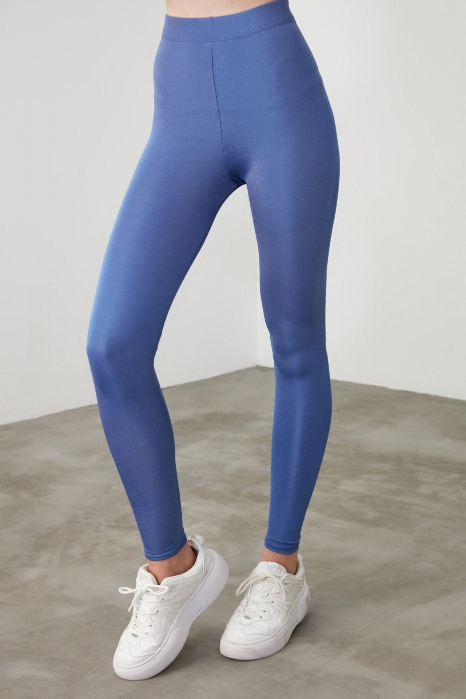 Trendyol Blue Bright Disco Knitted Tights