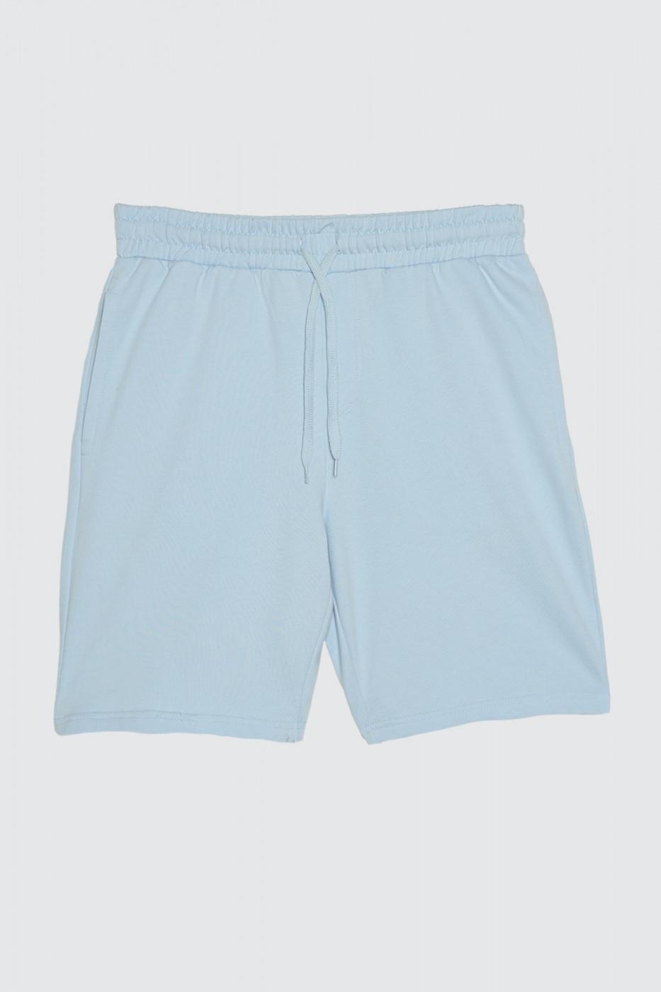 Trendyol Blue Men's Shorts & Bermuda