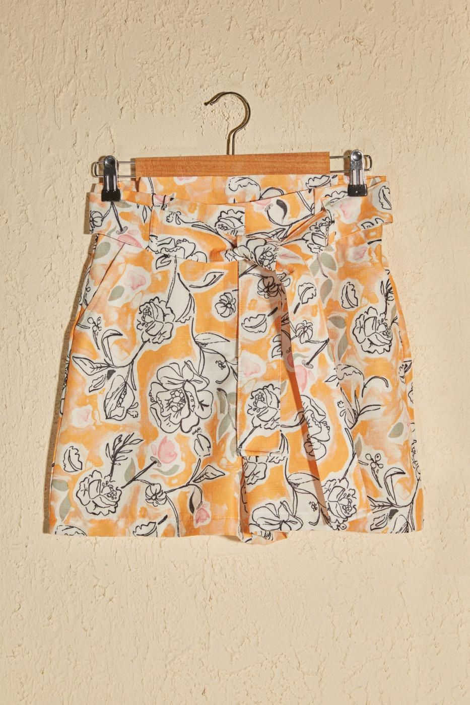Trendyol Multicolor Floral Printed Shorts & Bermuda
