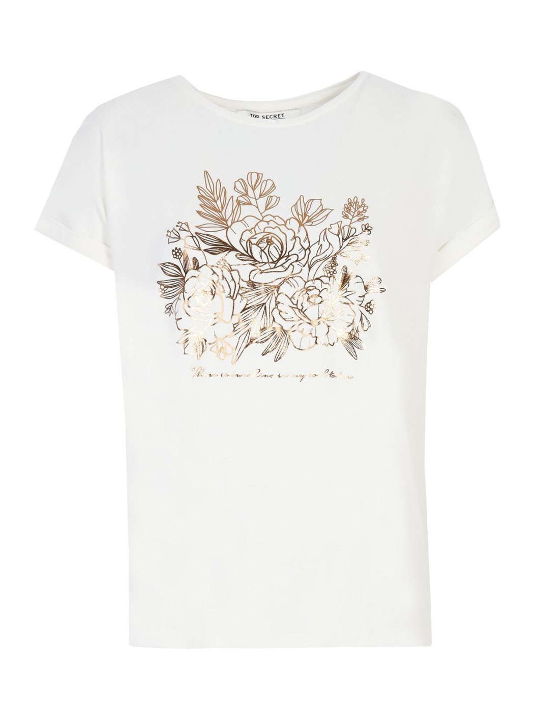 Women's T-shirt Top Secret Graphic printed