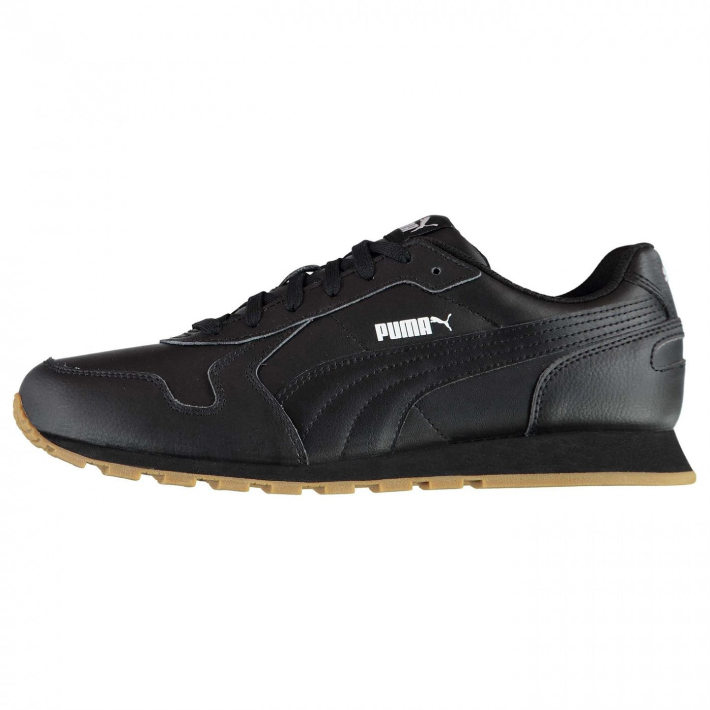 Puma ST Run Leather Trainers