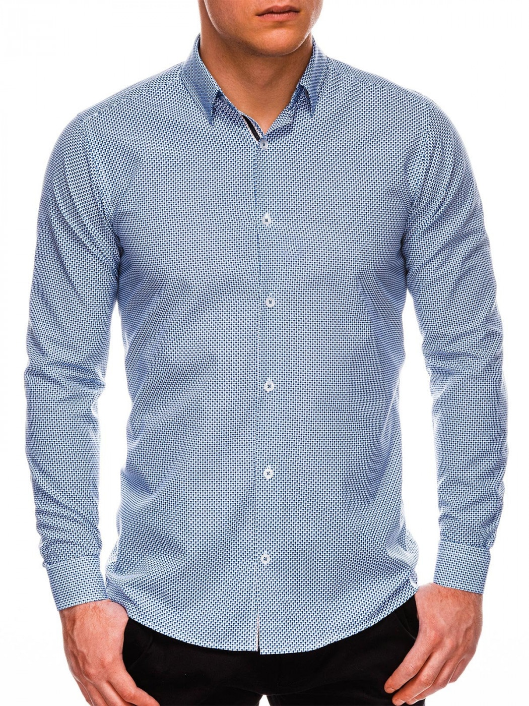 Men's shirt Ombre K535