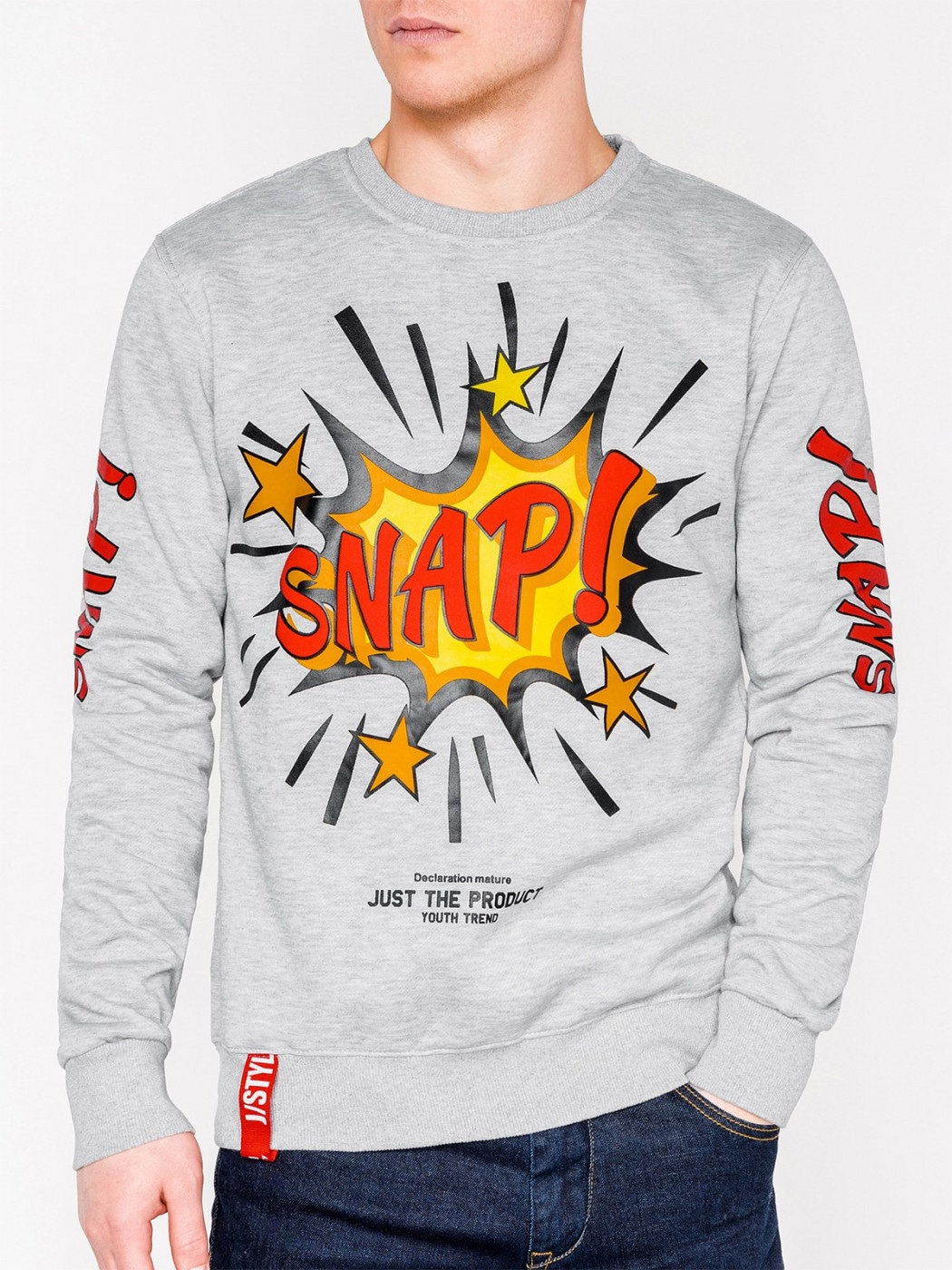 Inny Men's printed sweatshirt B943