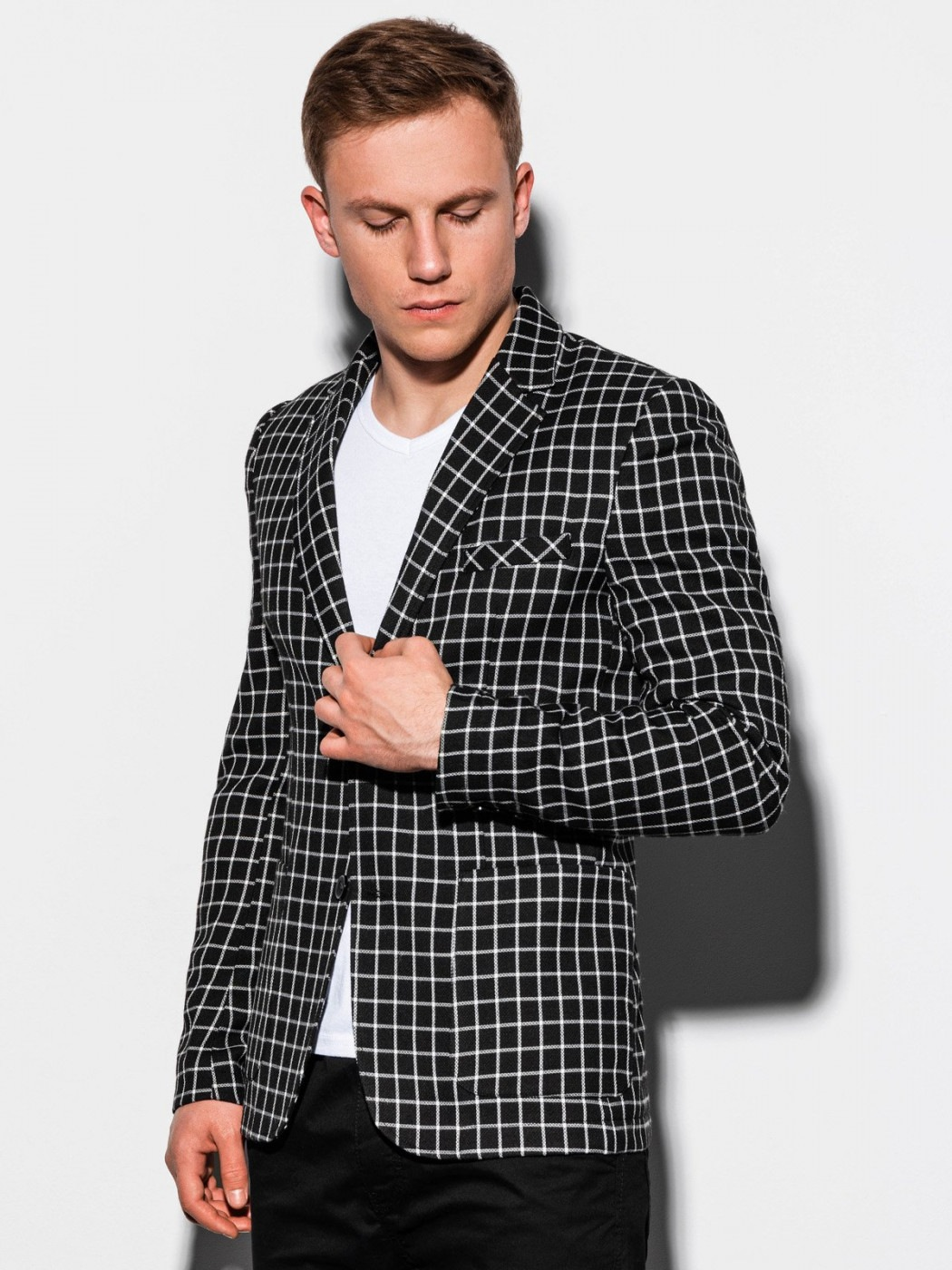Ombre Clothing Men's casual blazer jacket M161