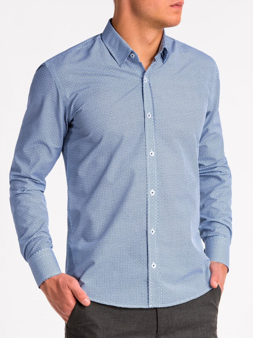 Men's Shirt Ombre K471