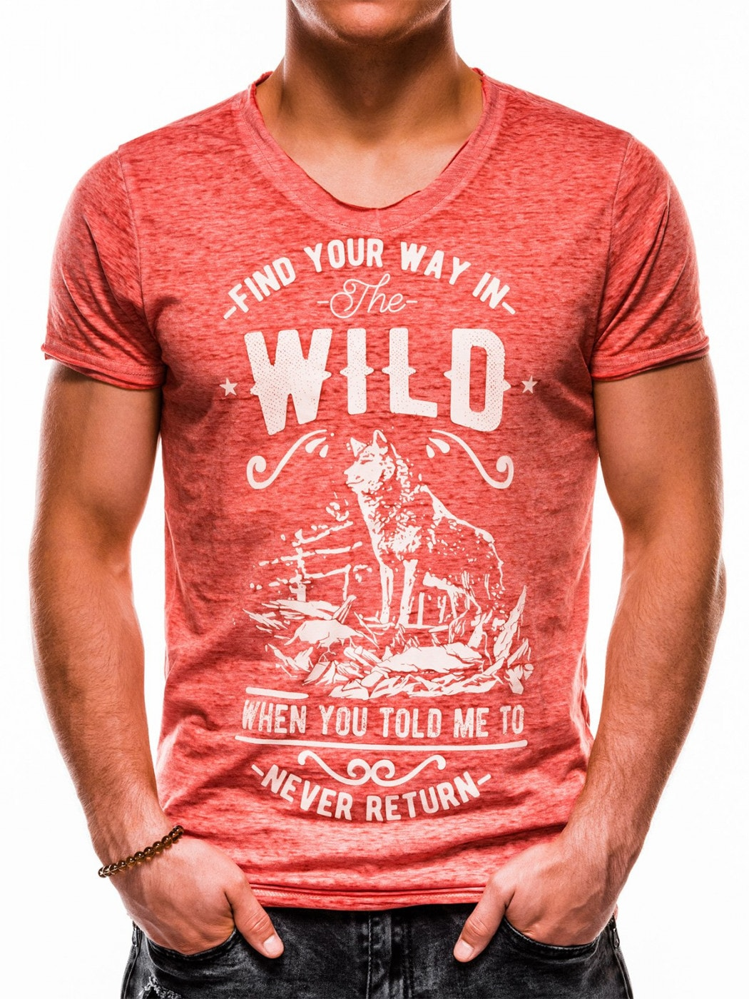 Ombre Clothing Men's printed t-shirt S1146