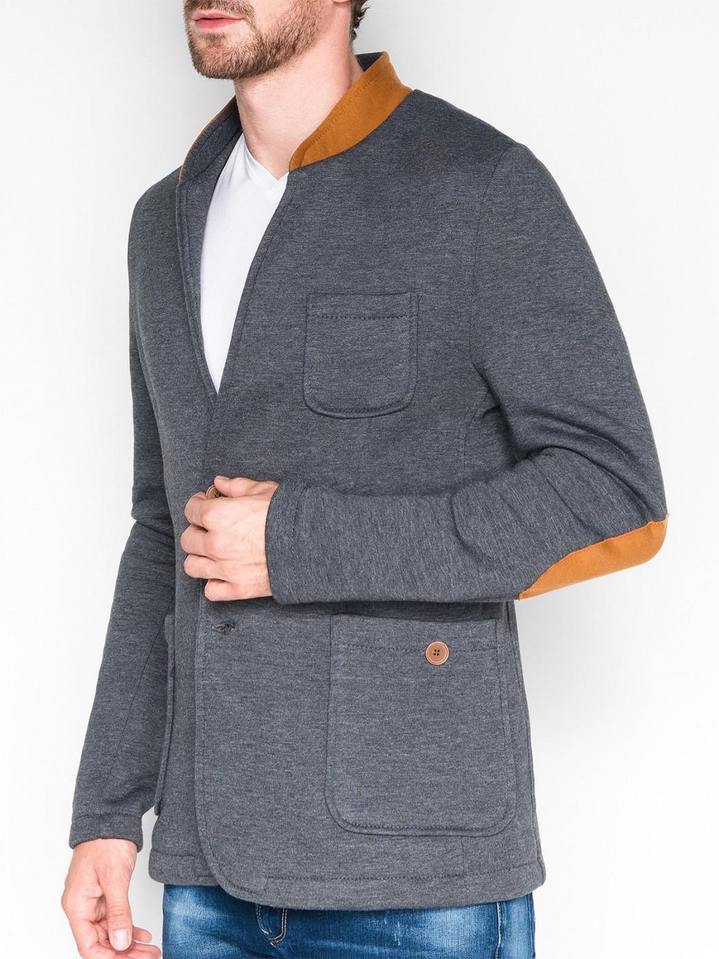 Ombre Clothing Men's casual blazer jacket M07