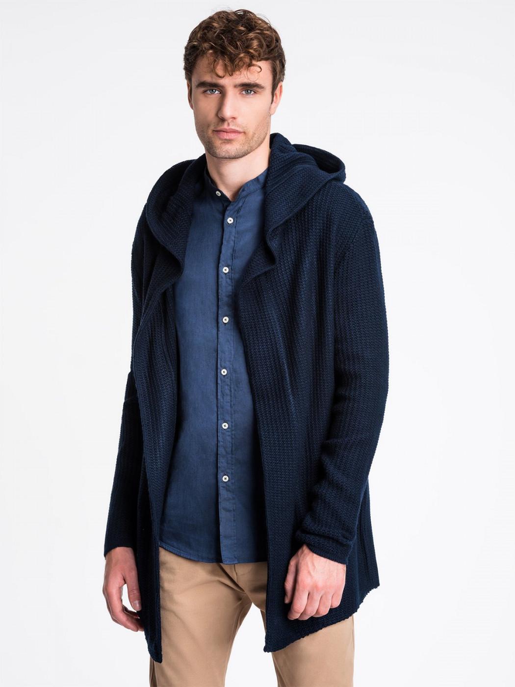Men's cardigan Ombre E165