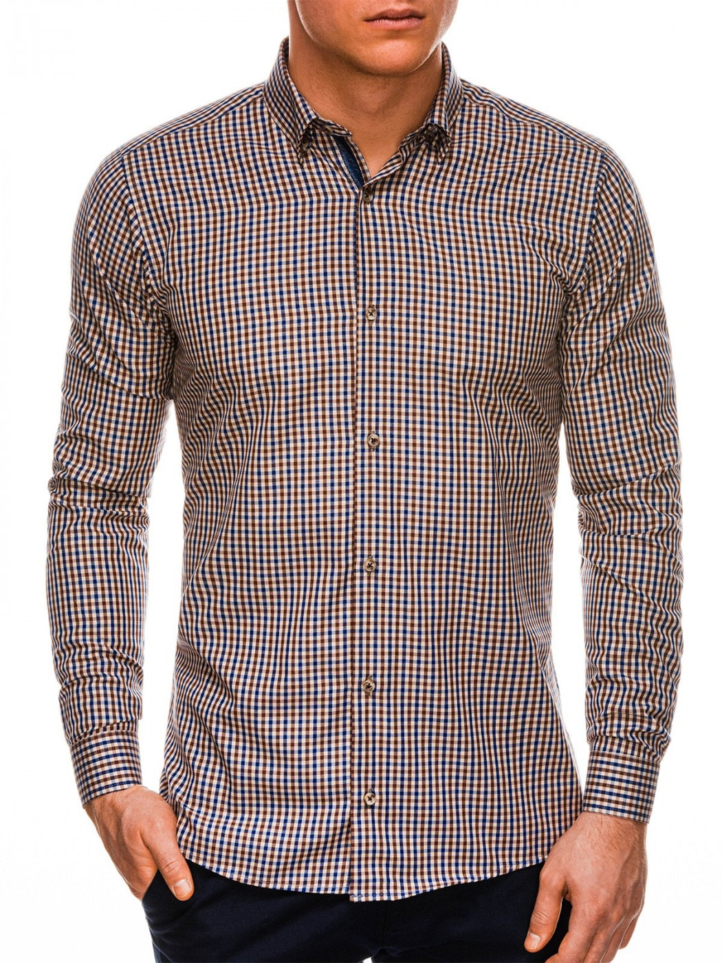 Men's shirt Ombre K534