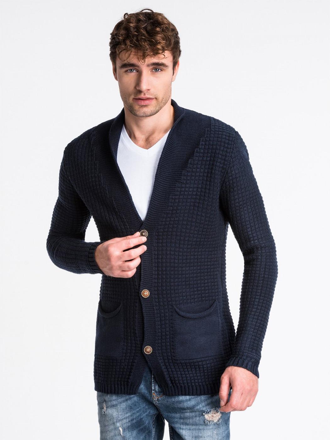 Men's sweater Ombre E164