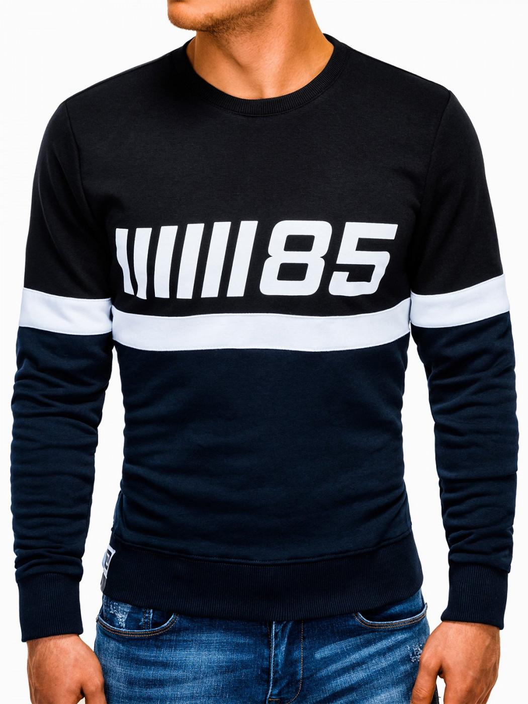 Ombre Clothing Men's printed sweatshirt B934