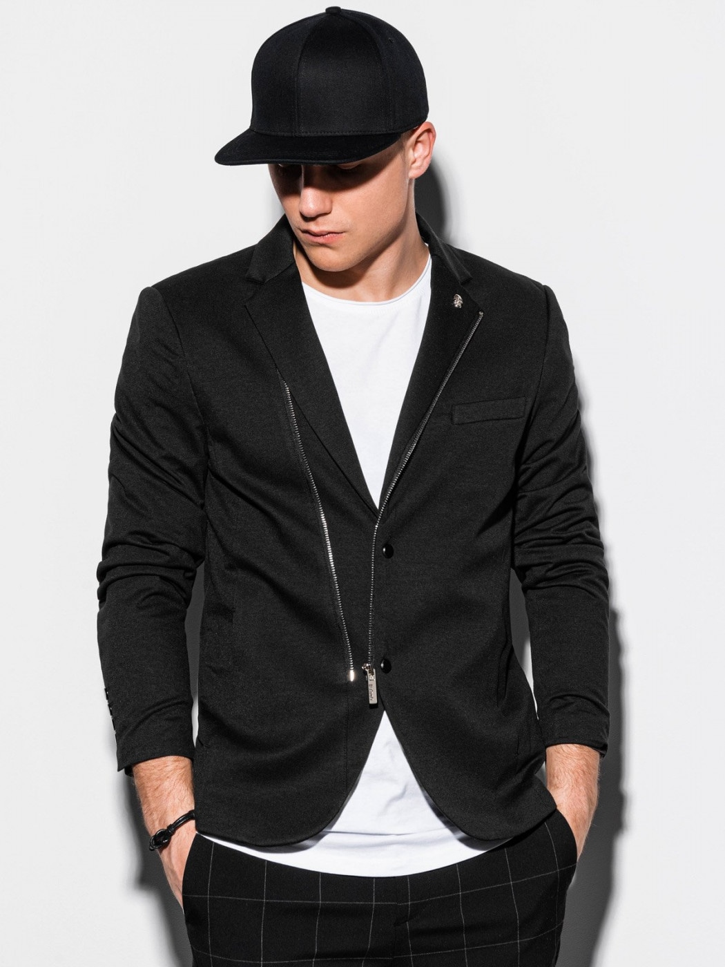 Ombre Clothing Men's casual blazer jacket M160