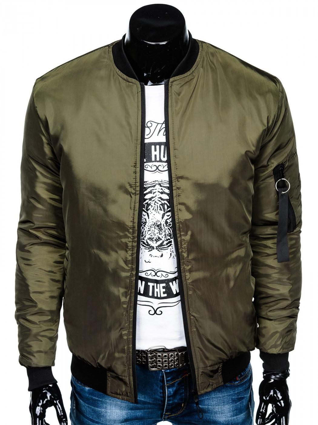 Inny Men's mid-season bomber jacket C336
