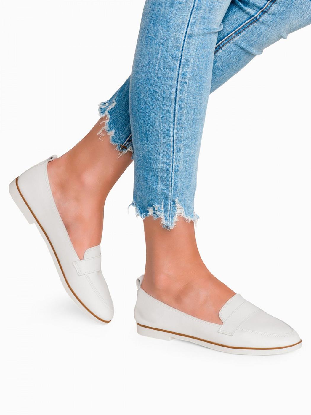 Larica Women's moccasins LR245 white