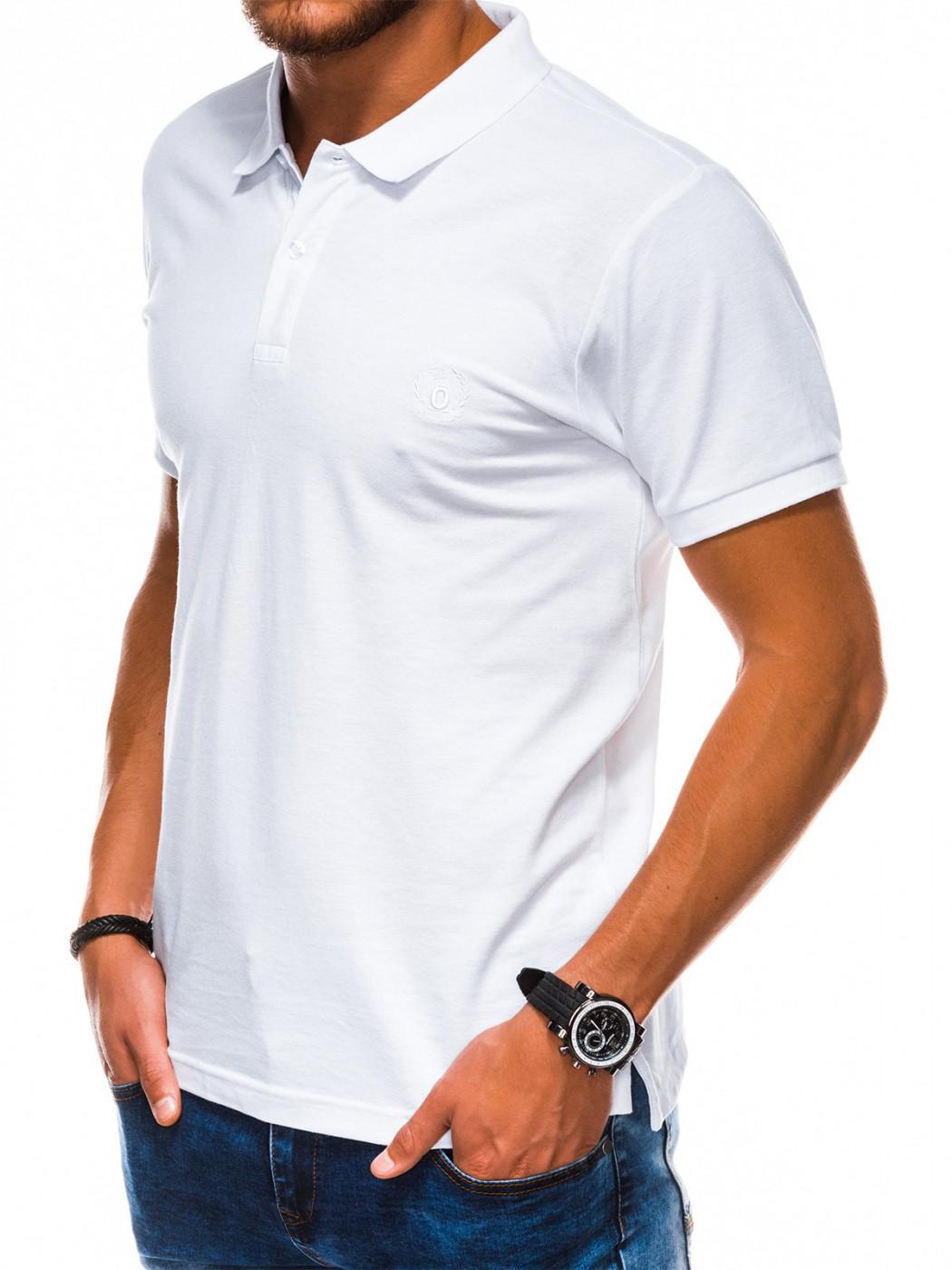 Ombre Clothing Men's plain polo shirt S1048