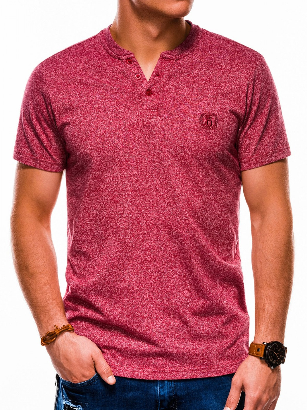 Ombre Clothing Men's plain t-shirt S1047