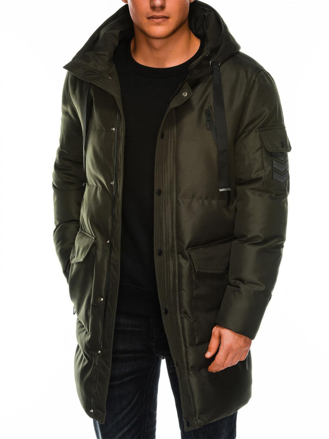 Men's winter jacket Ombre C409