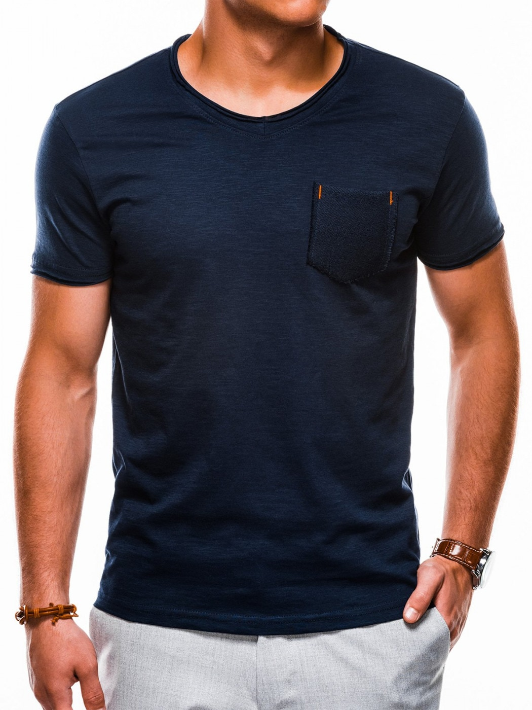 Ombre Clothing Men's plain t-shirt S1100
