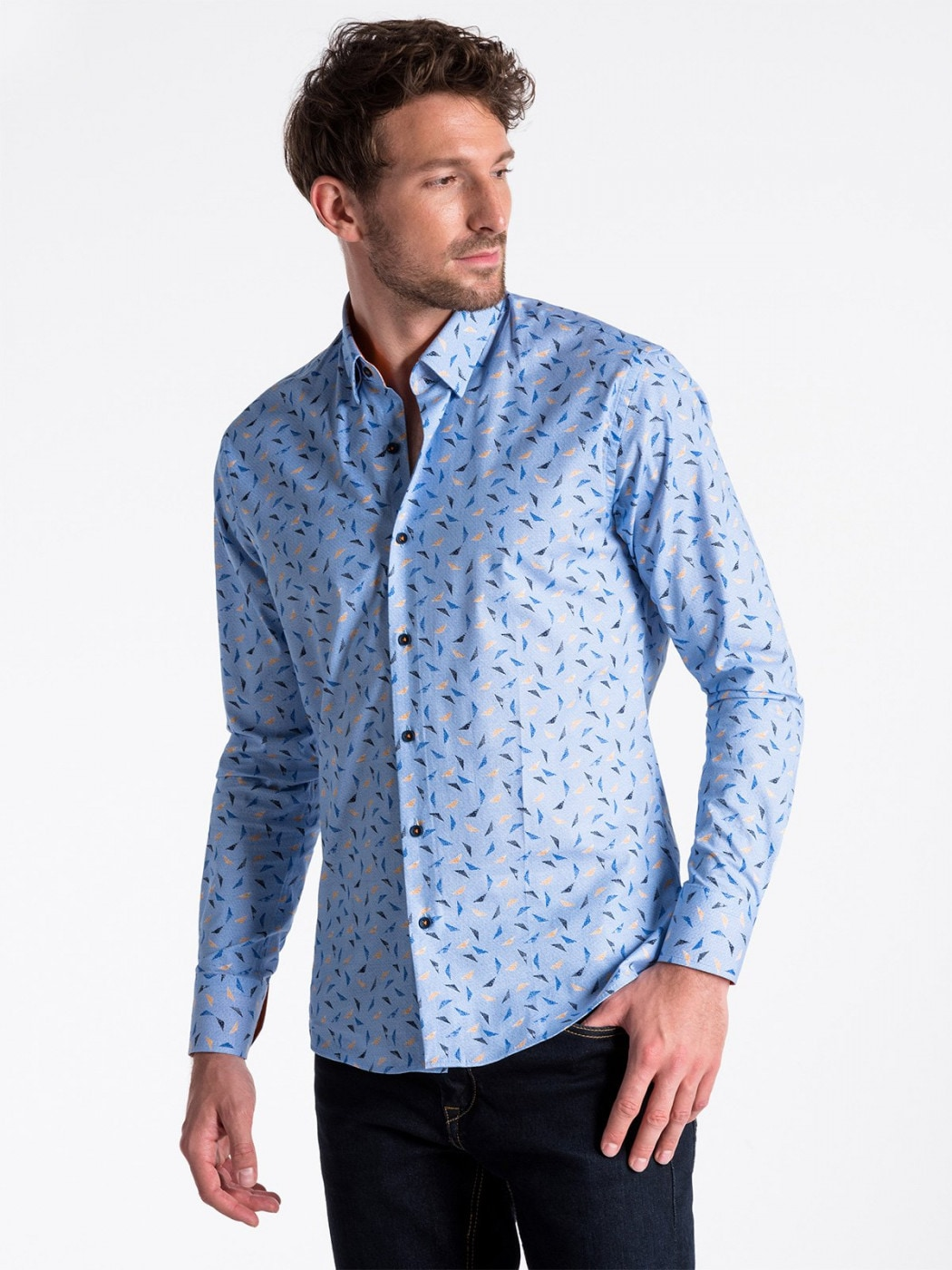 Men's Shirt Ombre K492