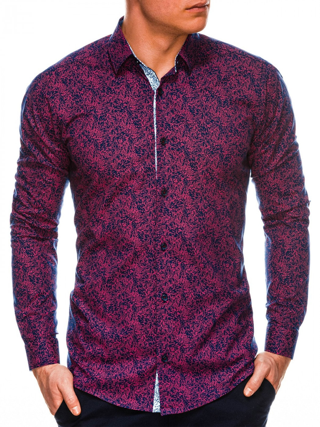 Ombre Clothing Men's long sleeve shirt K530