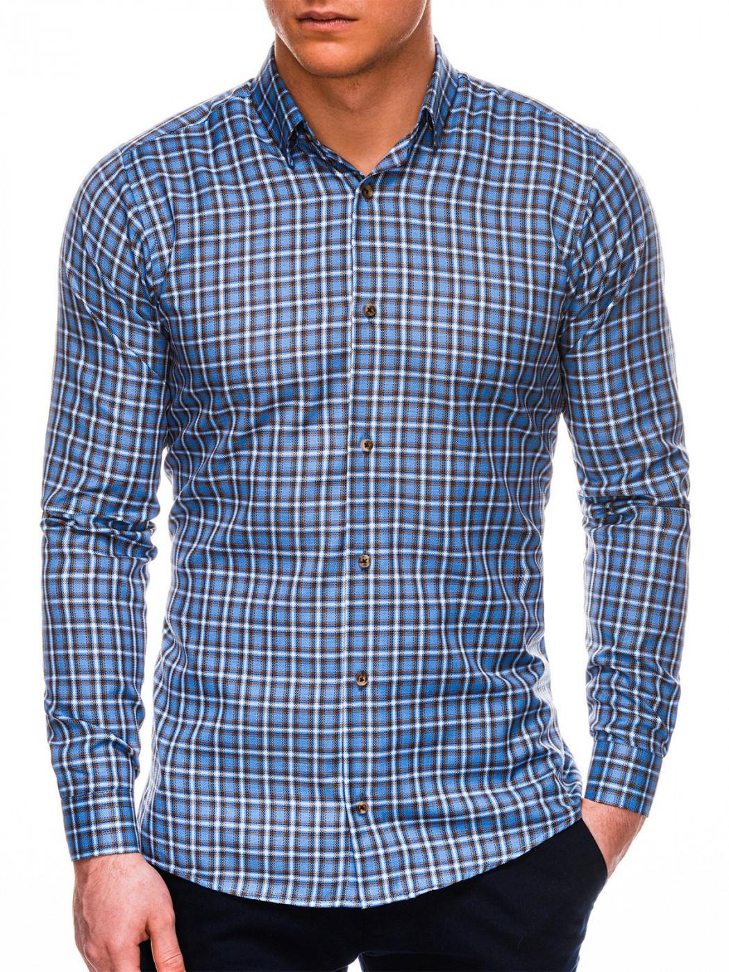 Men's Shirt Ombre Checked