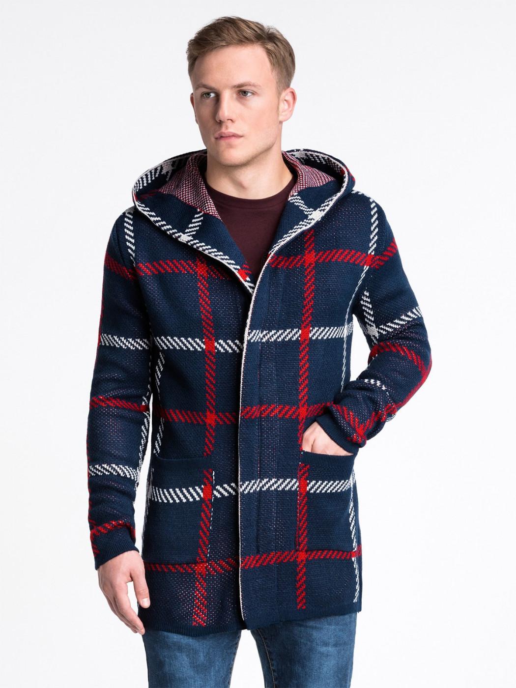 Men's coat Ombre E161