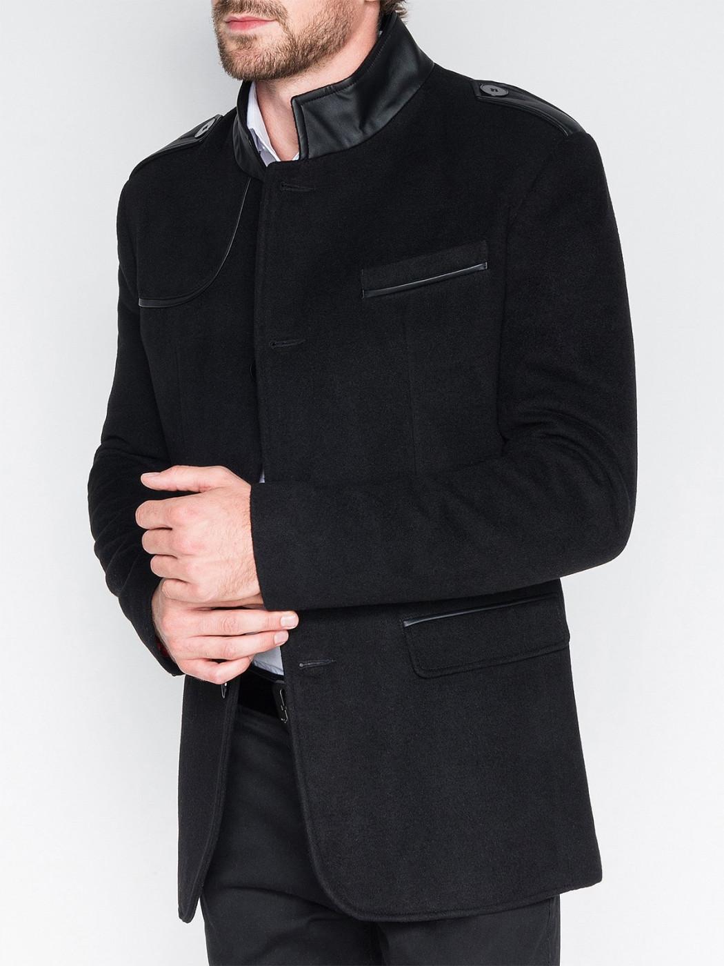 Ombre Clothing Men's coat C92 Augustin