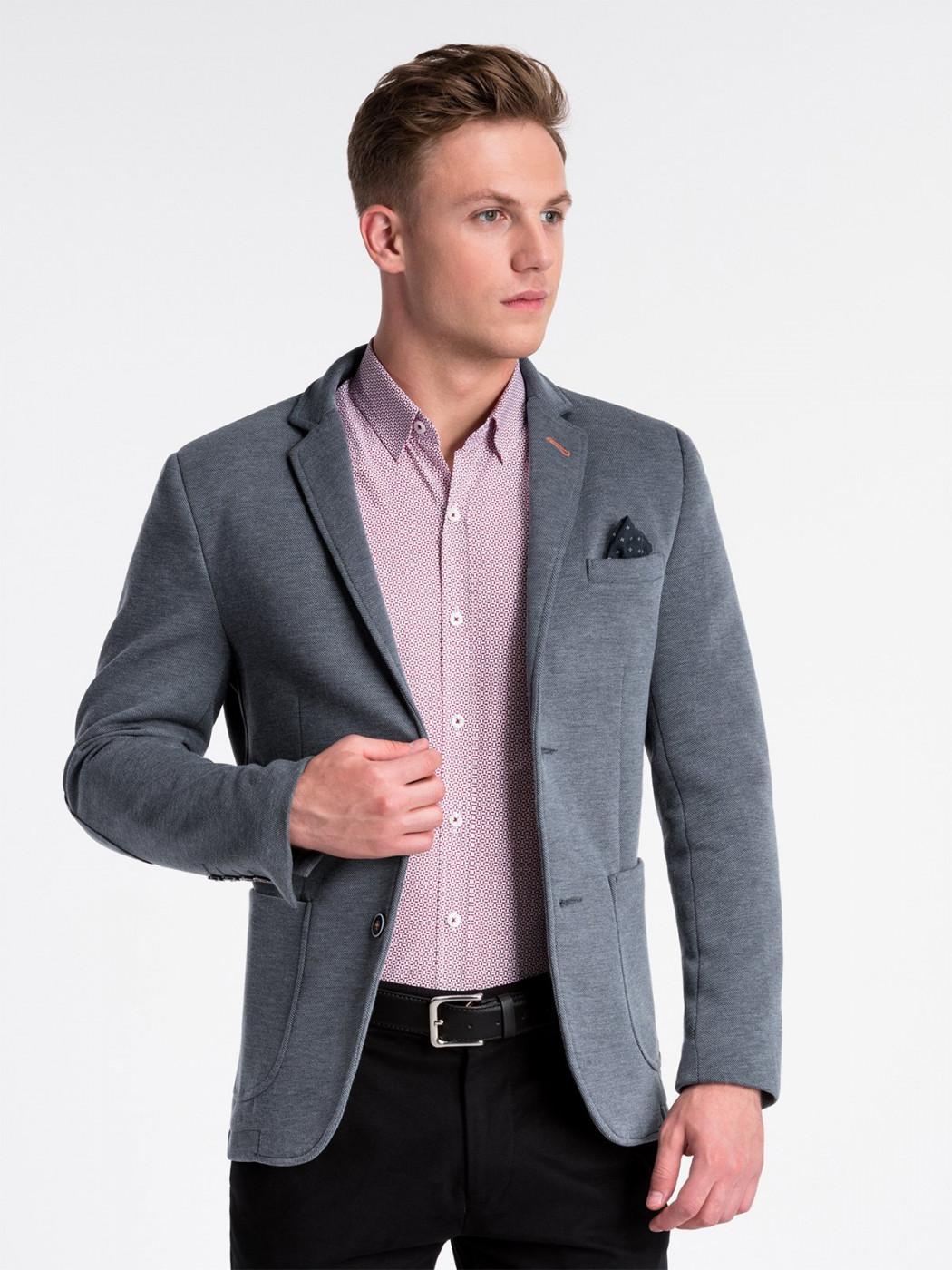 Men's blazer Ombre M80