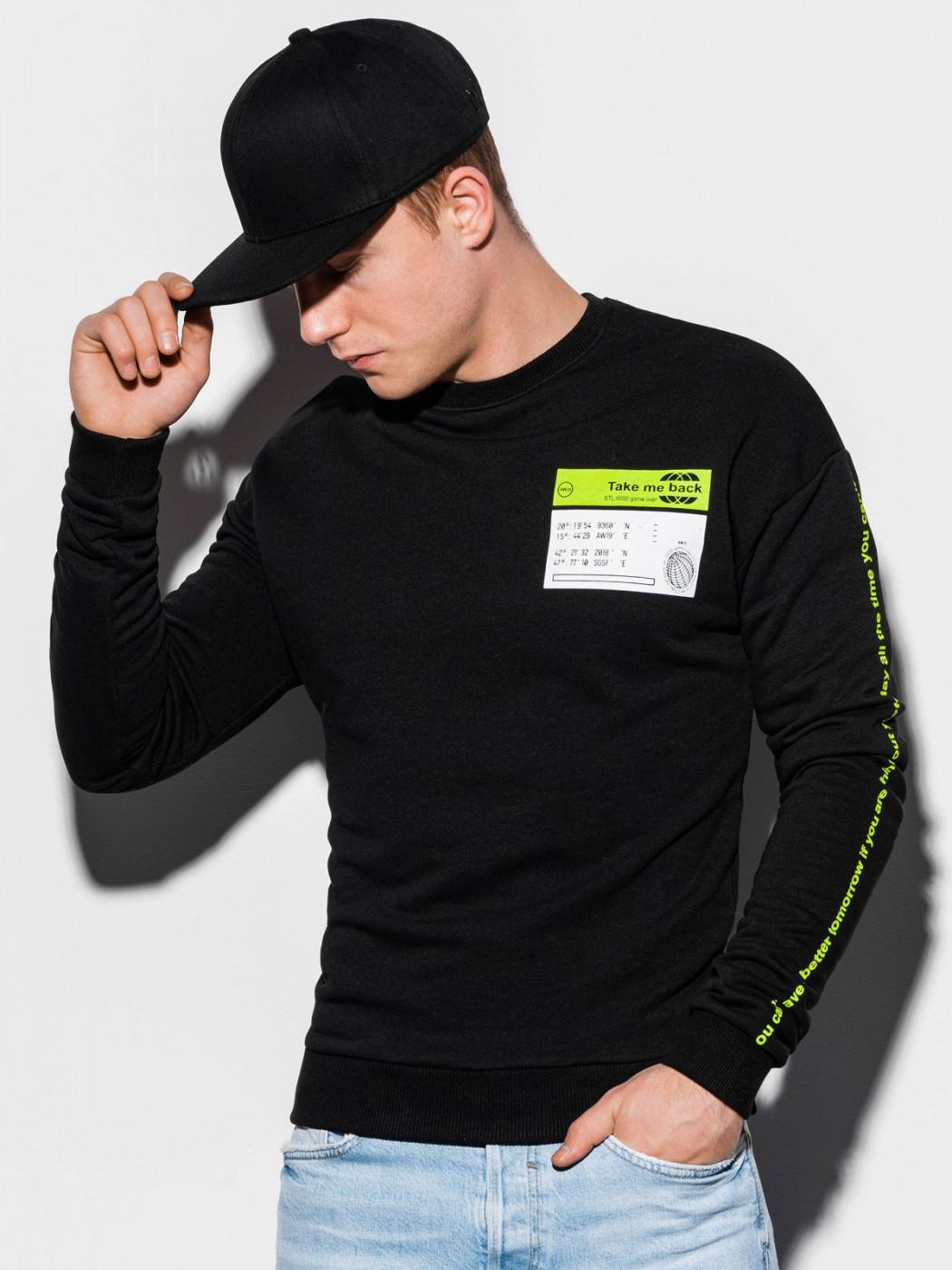 Men's sweatshirt Ombre B1046