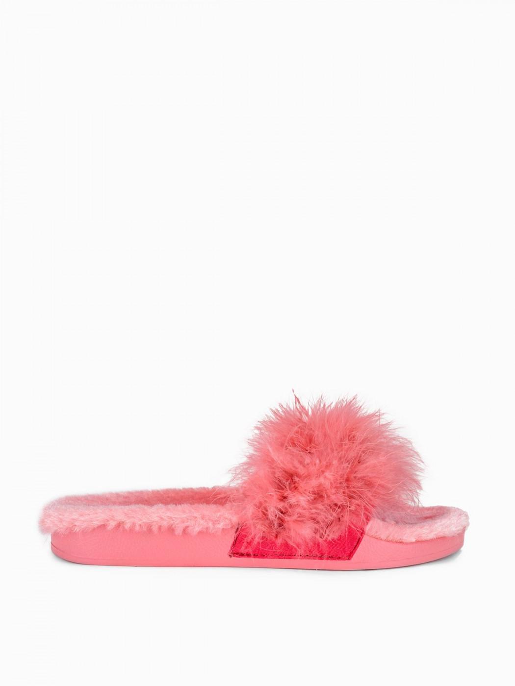 Larica Women's fur slippers