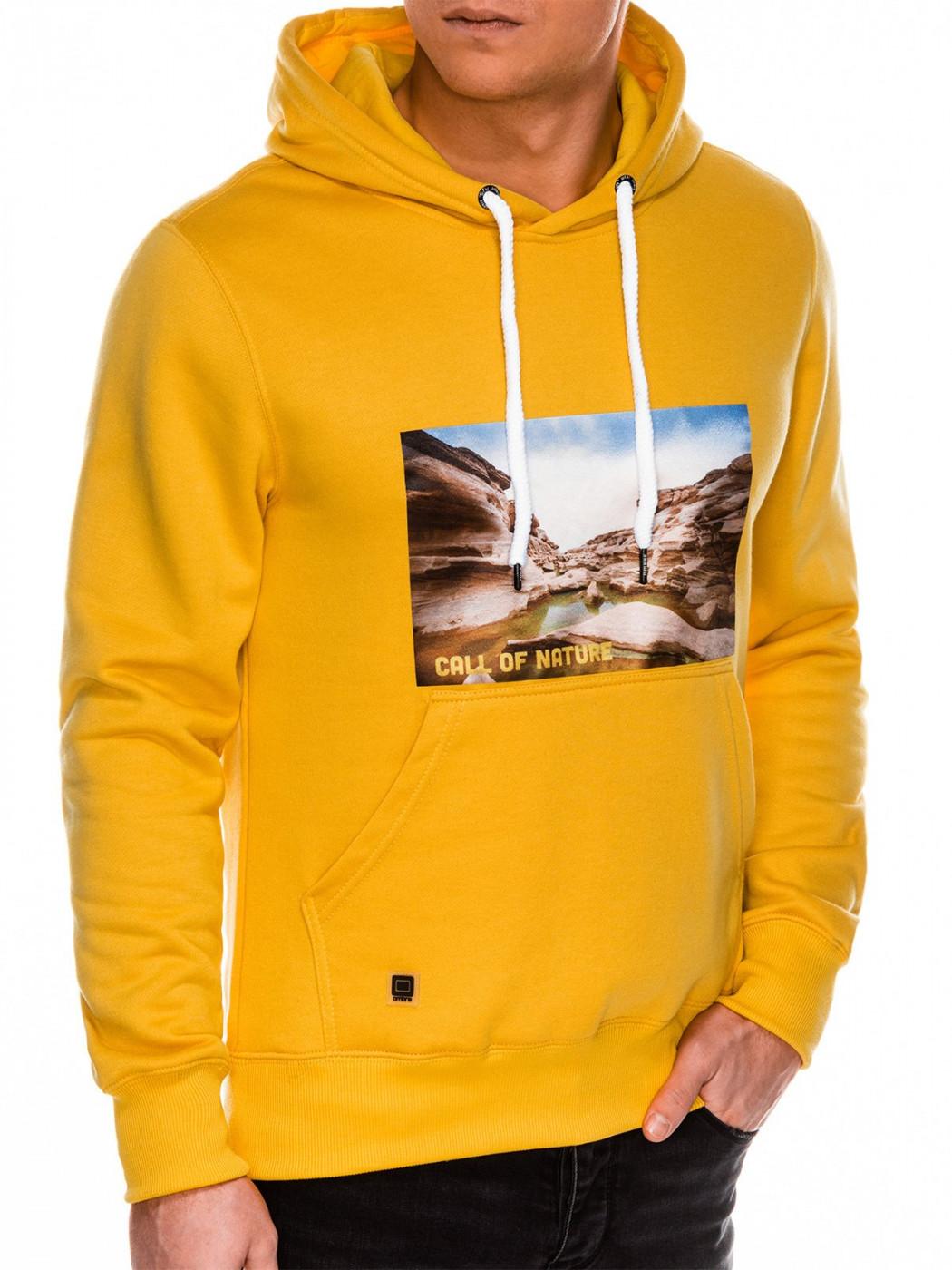 Men's hoodie Ombre B993