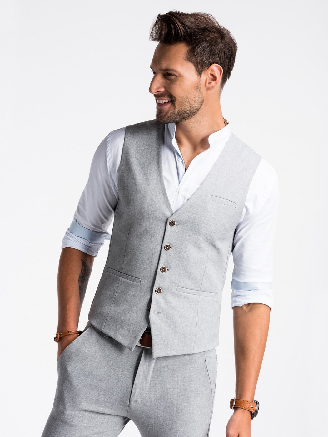 Ombre Clothing Men's vest   V47