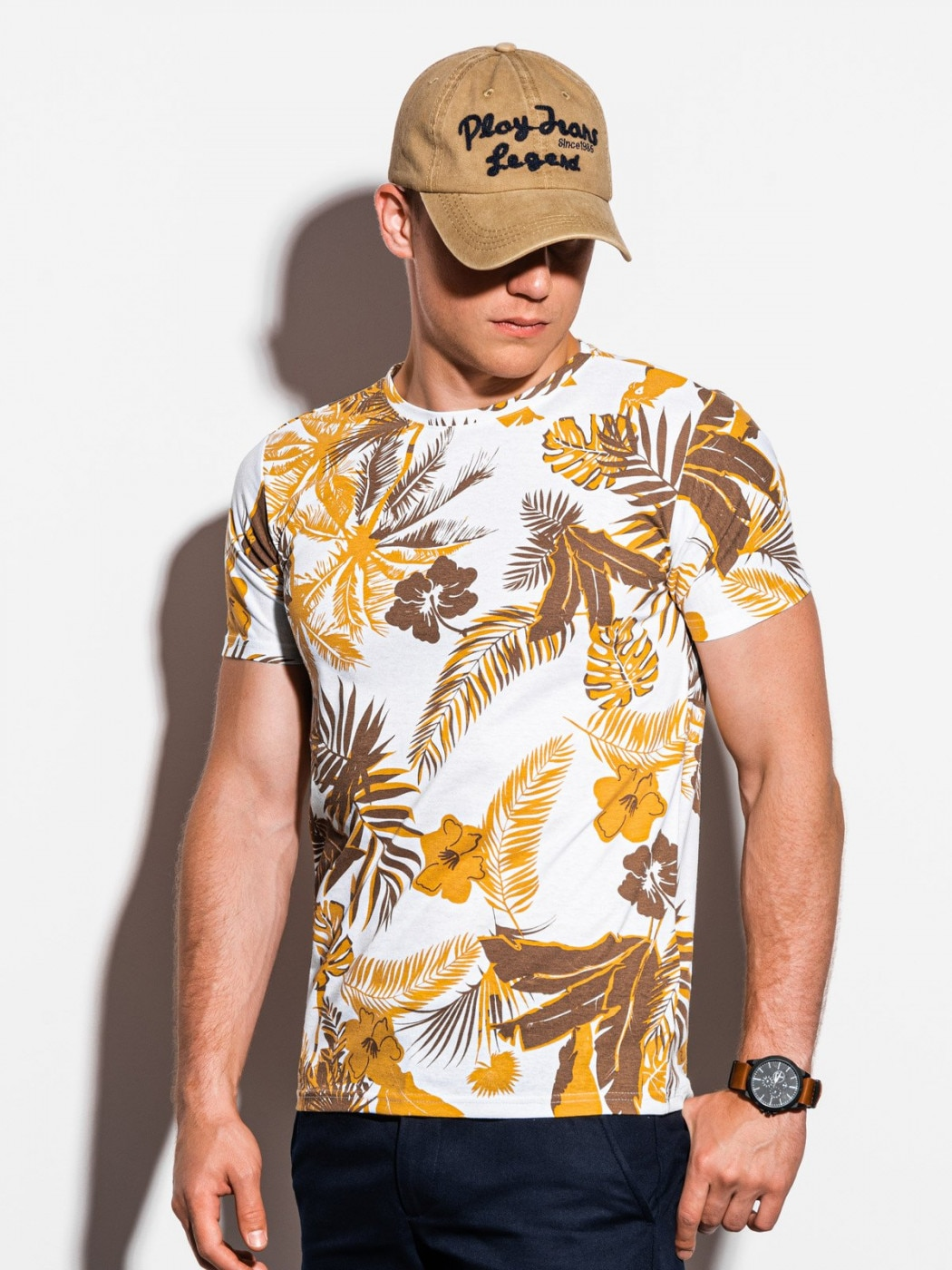 Ombre Clothing Men's printed t-shirt S1297