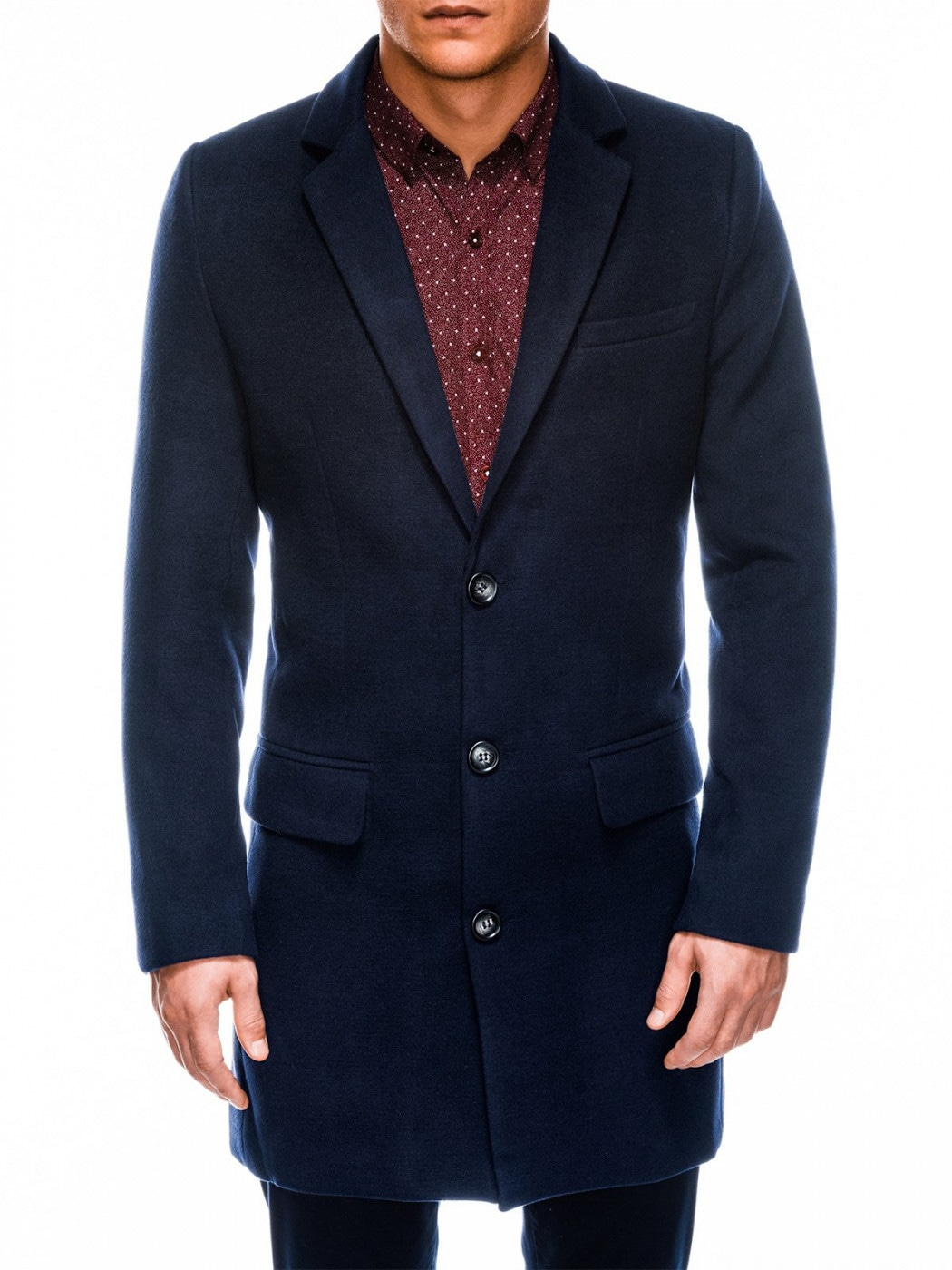 Ombre Clothing Men's coat C432