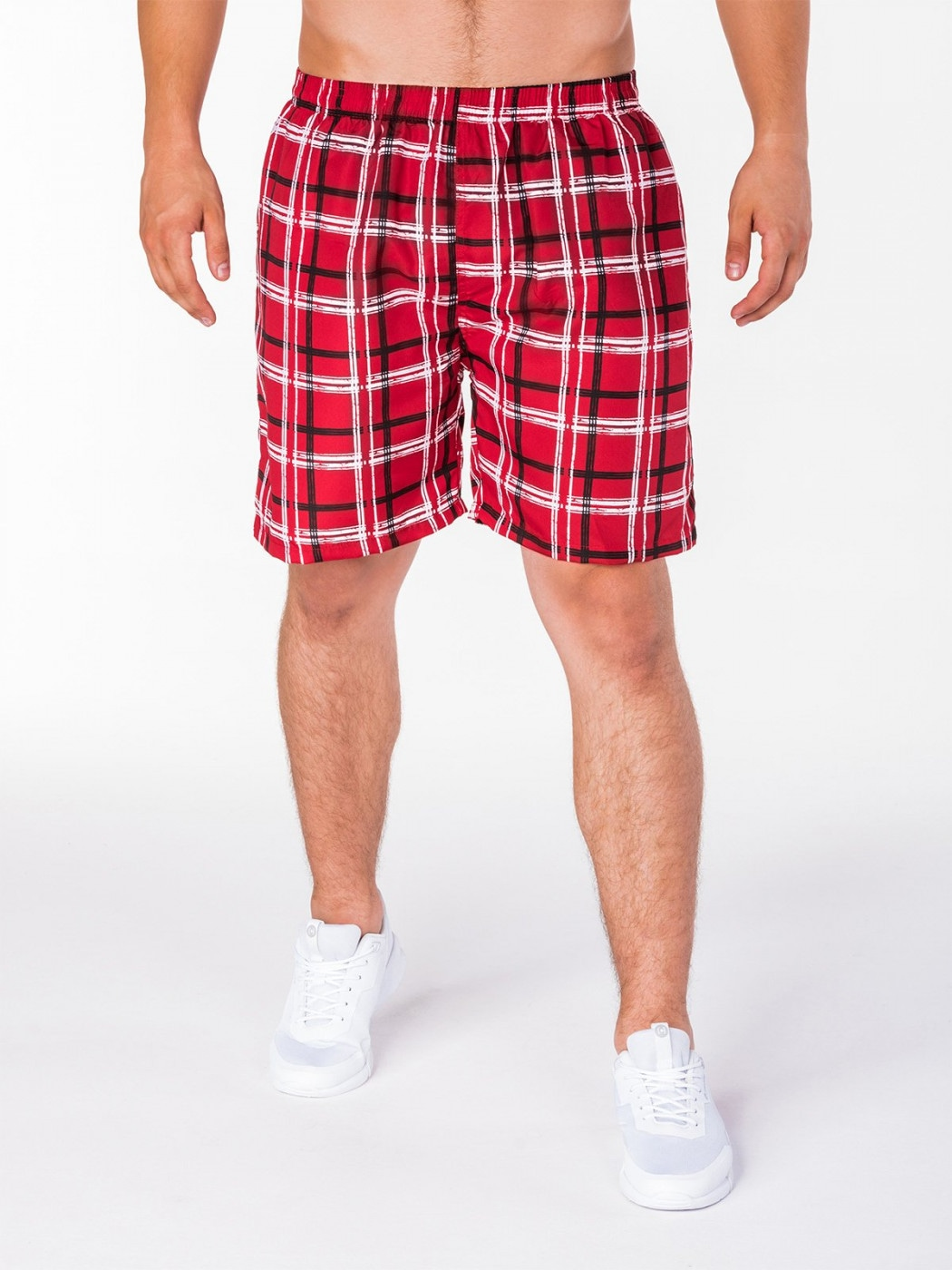 Men's shorts W092 - red