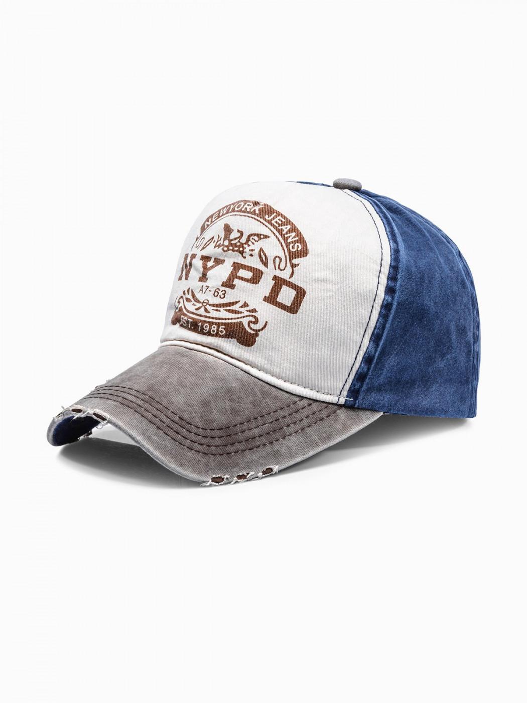 Men's cap H030 - brown